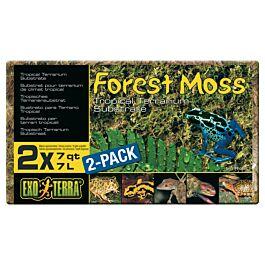 Exo Terra Forest Moss Terrariensubstrat 2x7l