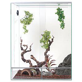 Glas Terrarium 50x50x80cm