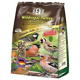 Gevo Wildvogelfutter mit Insekten & Chia 1kg
