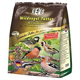 GEVO Wildvogelfutter Insekten & Chia 2.5kg