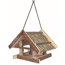 Trixie Natural Living Futterhaus - Vogelhaus aus Holz