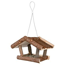 Trixie Natural Living Futterhaus 32x23x20cm - Vogelfutterhaus aus Holz