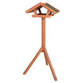 Trixie Natura Vogelhaus aus Holz mit Ständer 46x22x44cm braun