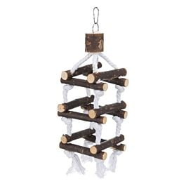 Leitergerüst 12 Sprossen 34cm für Vögel