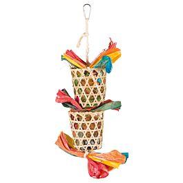 Trixie Naturspielzeug mit Nistmatte 35cm
