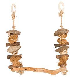 Trixie Natural Living Schaukel aus Holz/Kokos