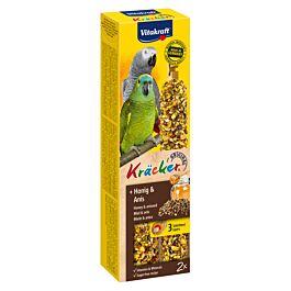 Vitakraft Vita Kräcker mit Honig für Papageien 2 Stück