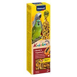 Vitakraft Vita Kräcker Tropenfrucht für Papageien 2 Stück