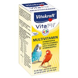 Vitakraft Multivitamin oiseaux 10ml