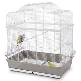 Ginevra Cage à oiseaux blanche