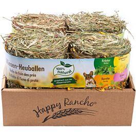 Happy Rancho Balle de foin des prés 4x150g