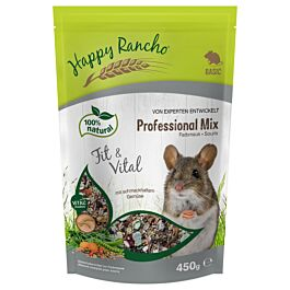 Happy Rancho Professional Mix Farbmausfutter 450g