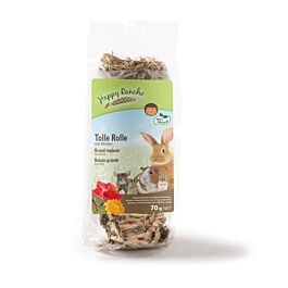 Happy Rancho Nagersnack Tolle Rolle mit Blüten 70g