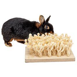 Bunny Schnüffelbrett für Nager & Kleintiere 24.5x10.8x24.5cm