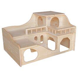 Resch Maison pour cochons d'Inde château