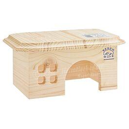 Resch Maison pour hamsters Bungalow 20x13x9cm
