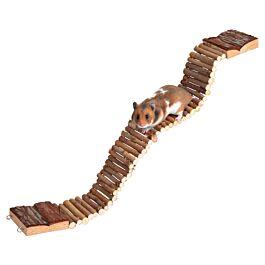 Trixie Leiter / Hängebrücke aus Naturholz