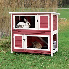Habitat pour rongeurs en bois FLAVIO 116x61x107.2cm
