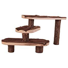 Trixie Escalier en bois pour rongeurs 38x24cm
