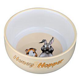 Trixie Honey & Hopper Keramiknapf 250ml