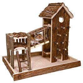 Trixie Spielplatz Birger für Mäuse & Hamster 36x33x26cm