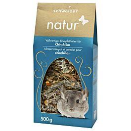 schweizer Nourriture naturelle p.chinchillas 500g