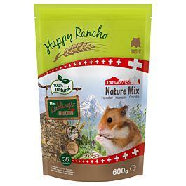 Happy Rancho Swiss Nature Mix Hamster 600g