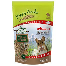 Happy Rancho Swiss Nature Mix Farbmaus 500g