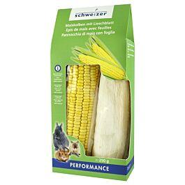 schweizer Maiskolben mit Lieschblatt 2 Stück