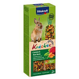 Vitakraft Kräcker Légumes & betterave rouge lapins nains 2 pièces