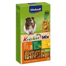 Vitakraft Kräcker Trio-Mix citron/légumes/miel cochons d'Inde