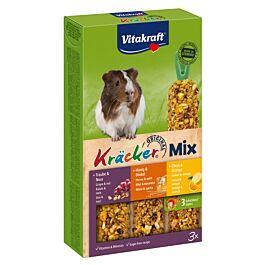 Vitakraft Kräcker Trio Mix Nuss, Honig & Citrus 3er