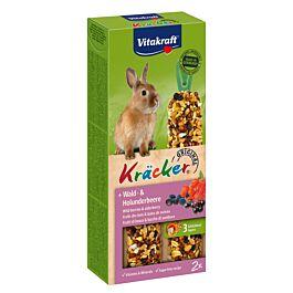 Vitakraft Kräcker fruits des bois & baies de sureau paquet de 2