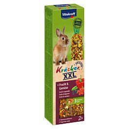 Vitakraft Kräcker XXL Fruits & légumes lapins nains 2 pièces