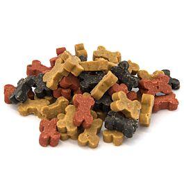 QUALIDOG Friandises pour chien Semi-Moist Mix d'os 150g