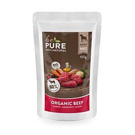 bePure Nassfutter Bio Rind mit Karotten 150g