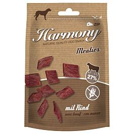 Harmony Dog Natural Hundesnacks Meaties mit Rind 60g