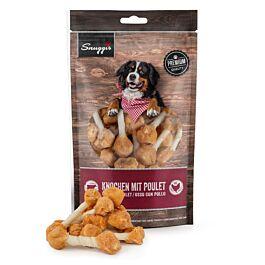Snuggis Hundeleckerli Knochen mit Poulet 150g