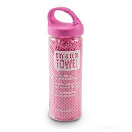 Freezack Kühlendes Reinigungstuch Pet Ice Towel pink 85x33cm
