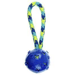 Zeus Hundespielzeug K9 Fitness Ball Tug 23cm