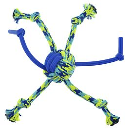Zeus Hundespielzeug K9 Fitness Rope & TPR Spider Ball