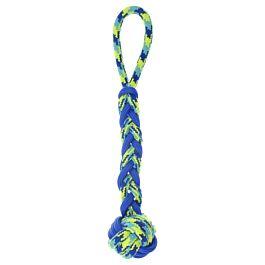 Zeus Hundespielzeug K9 Fitness Rope & TPR Ball Tug 40cm