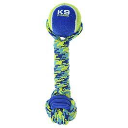 Zeus Hundespielzeug K9 Fitness Rope & TPR Tennis Dumbbell