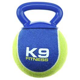 Zeus Hundespielzeug K9 Fitness XL Tennis & TPR Tug Ball
