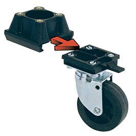 MP Bergamo set de roues L388 4pces.
