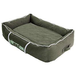 Rogz Lit pour chien Lounge Pod S vert