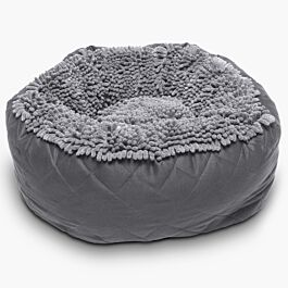 Dog Gone Smart Lit pour chiens Dirty Dog Round Bed gris