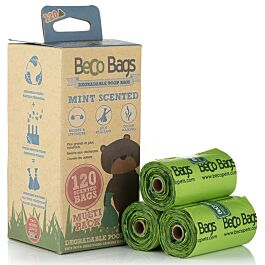 Beco Pets Hundekotbeutel Peppermint ScentedBags 120Multi