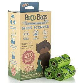 Beco Pets Hundekotbeutel Peppermint ScentedBags 270St.