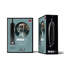 Moser Professionelle Netz-Tierschermaschine max45 Typ 1245